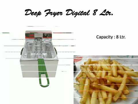 Akasa Indian Electric Single Deep Fryer 8Ltr