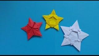 Xếp hình ngôi sao giấy siêu đẹp - star - Origami
