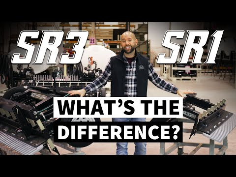 Skid Steer Attachments: What's The Difference Between SR3 & SR1?
