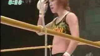 MIKU vs LISA WARD-female mma-TAP OUT