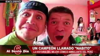 """Un campeón llamado """"Nabito"""": La historia del mejor cómico del Perú"""
