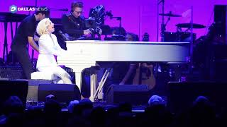 <b>Lady Gaga</b> Performs The Edge Of Glory At Harvey Relief Concert At Texas A&M