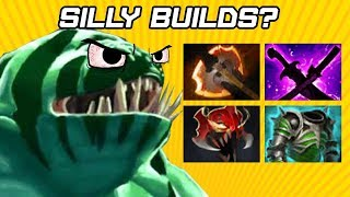 Dota 2 Silly Builds Returns? Carry Tidehunter
