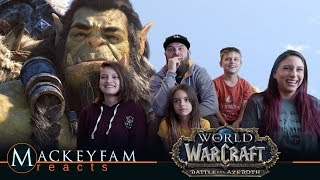 """World of Warcraft: Cinematic: """"Safe Haven""""- REACTION and REVIEW!!!"""