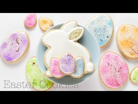 Easter Bunny and Easter Egg Cookies!