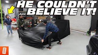 REVEALING HIS DREAM CAR!!!! *EMOTIONAL*