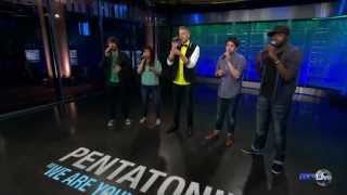 "Pentatonix LIVE in the AXS TV Studio - ""We Are Young"""