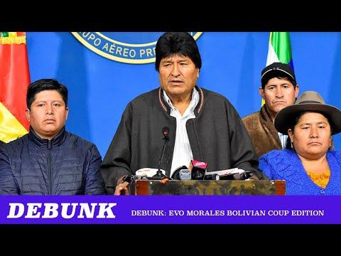 Debunk: Evo Morales Coup Edition ft. Ben Burgis & Richard Wolff
