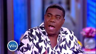 Tracy Morgan On Giving Back To Brooklyn, Dinner With Morgan Freeman   The View