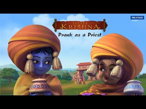 Little Krishna   Prank as a Priest   Video Clip