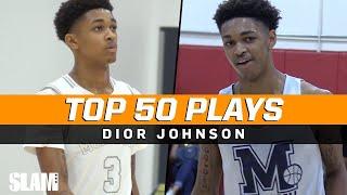 Dior Johnson BEST PLAYS of the Season! 🔥 SLAM Top 50 Friday