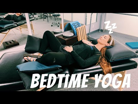 Bedtime Yoga AT HOME!!