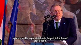DAVID MUNDELL BESZÉDE - VIDEÓ