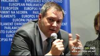 Stanko Ivanušič o črpanju sredstev - Okrogla miza Evropske poti in sredstva za razvoj Slovenije