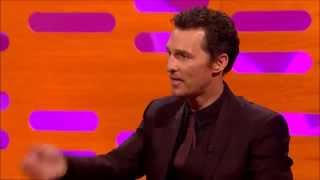 Matthew McConaughey explains how the famous humming from Wolf of Wall Street is because of him & Leo