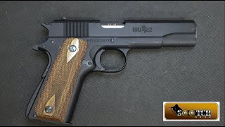Browning 1911-22 Pistol Review