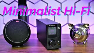 Minimalist Desktop Audio Setup | SMSL AD18 Stereo HiFi Amplifier Review