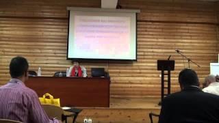 Επιστημονική Εκδήλωση Ξάνθης, Ομιλία κ. Λουκάκη