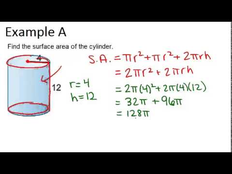 how to find volume of a tapered cylinder