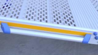 Rampa Manual Desmontable apra acceder al vehículo en silla de ruedas