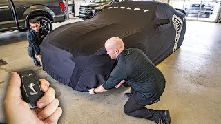 FIRST TO TAKE DELIVERY OF A BRAND NEW 2020 SHELBY GT500!