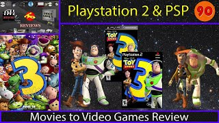 Movies to Video Games Review - Toy Story 3 (PS2 & PSP)