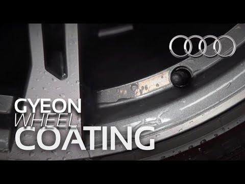 Coating of Calipers + Wheels on 2018 Audi SQ5 with Gyeon Q2 Rim