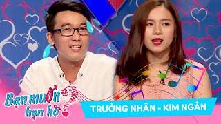 Guy uses singing to win kindergarten teacher's heart | Truong Nhan - Kim Ngan | WANNA DATE 301 🎼