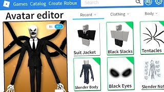 ROBLOX MAKING SLENDERMAN an ACCOUNT!