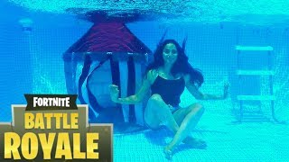 Real Life UNDERWATER Fortnite Battle Royale !!! - Video Youtube