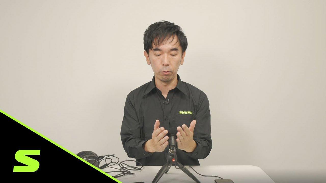 MV88+ ビデオキット | ポッドキャスト/ナレーション用セットアップ