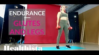 Legs and Booty Workout with Olympic Freestyle Skier Rowan Cheshire | Part two