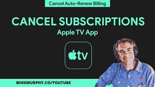 How To Cancel Apple TV Subscriptions on iOS Devices