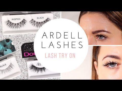 ARDELL LASHES TRY ON / BEST SELLING STYLES