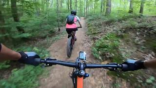 This is a detailed tour of the Biology Trails at White Oak Mountain. This video was made in hopes of giving riders the confidence to tackle and rider deeper into a trail system that some find confusing and challenging.