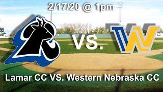 Baseball - Lamar CC vs. Western Nebraska CC