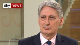 Chancellor Philip Hammond won't rule out a second EU referendum