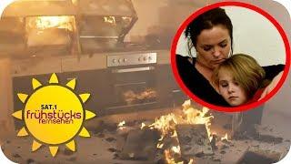 Toaster explodiert und zerstört Wohnung! | SAT.1 Frühstücksfernsehen | TV