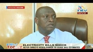 Electricity bills will not be backdated: CS Keter - VIDEO