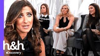 Damas de honra não são sinceras com a noiva | O Vestido Ideal: Reino Unido | Discovery H&H Brasil