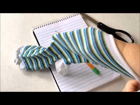 Screenshot of video: Sock Method