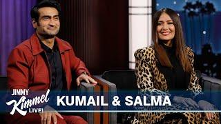 Salma Hayek & Kumail Nanjiani on Marvel Studios' Eternals, Salma's Birthday & Keanu Reeves' Butt