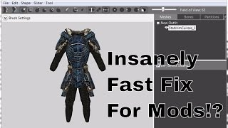 Now Everyone can fix their Skyrim mods to load in Special Edition! (Armor)