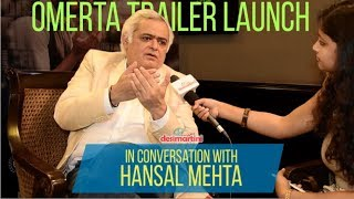 Interview With Hansal Mehta | Omerta Trailer Launch | HD