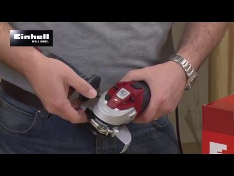 EINHELL EXPERT 115MM ANGLE GRINDER TE-AG 115