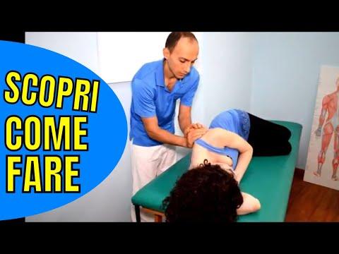 Massaggio presso la presenza di ernia intervertebrale