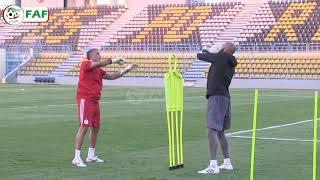 L'entraînement de l'équipe nationale d'Algérie au 25 juin 2019