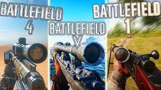 SNIPING in BF5 vs BF1 vs BF4 (WHO WON?) | Battlefield 5 Sniper Gameplay
