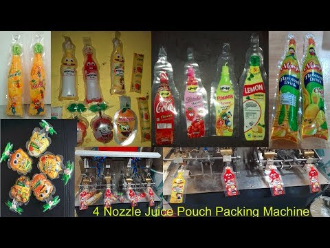 4 Nozzle Pouch Packing Machine