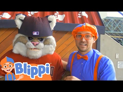 Learning Sports For Kids With Blippi | Educational Videos For Kids